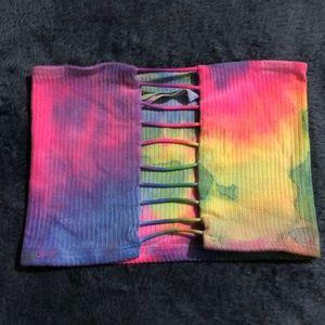 LF tie dye tube top